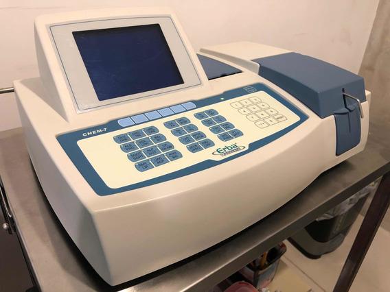 Analizador Química Clínica Sanguínea Erba Chem 7