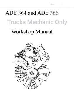Manual De Taller Mercedes Benz Om364 -om366