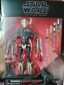 Star Wars General Grievous 6 Pulgadas