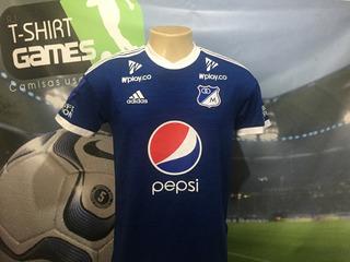 Camisa Do Millonarios Usada Na Final Do Torneo Fox 2019.