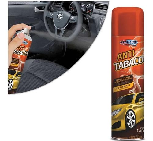 Imagem 1 de 10 de Anti Tabaco Spray Canela Elimina Odores Do Cigarros 400ml