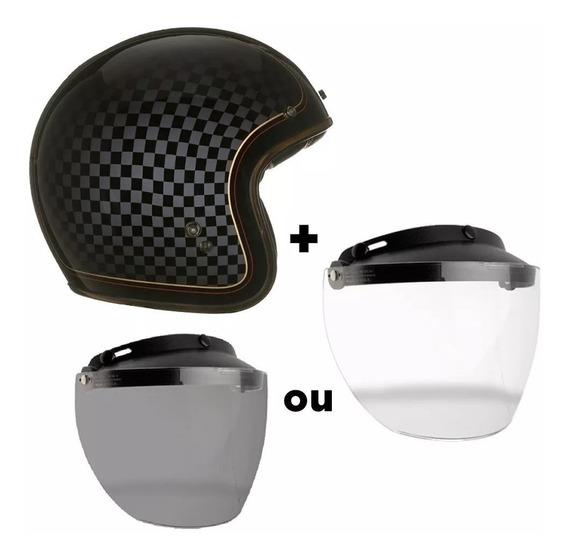 Capacete Bell Custom 500 Rsd Check It Com Viseira Flip