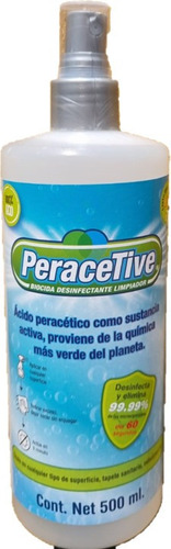 Imagen 1 de 1 de Desinfectante Biodica Formulado De Persan Active Lpu 500ml