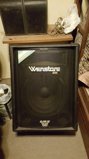 Bafle Wenstone 2 Vias Tl15 250 Rms - 500w Potencia - 8 Ohms