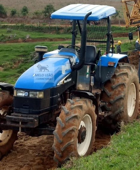 Trator New Holland Ts120 - Ano 2004 - Guincho Florestal