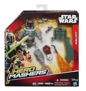 Star Wars Hero Mashers Boba Fett Original Hasbro
