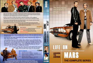 Life On Mars + Ashes To Ashes Completas 13 Dvds