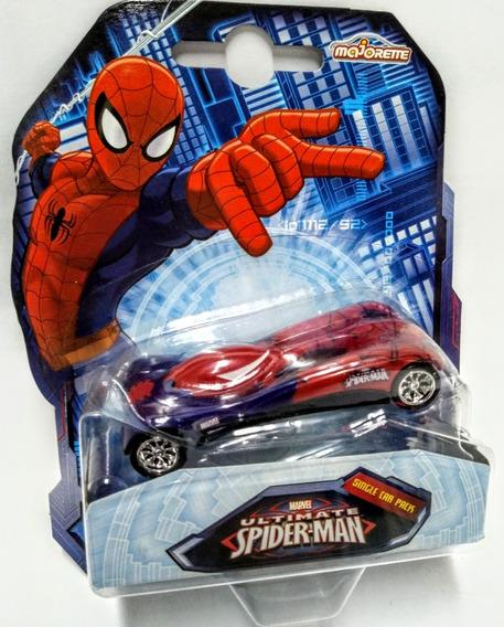 Auto Marvel Spider Man Ultimate - Escala 1/64 Majorette
