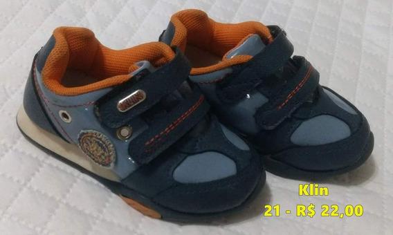 Tênis Klin Azul Menino - 21