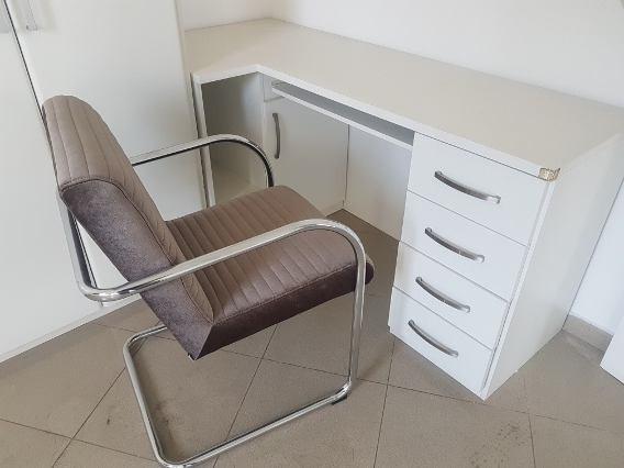 Escrivaninha Mesa Escritório Secretaria