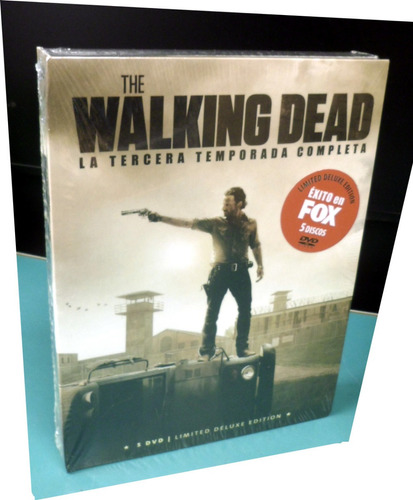 Dvd Original Pack 5 Dvd The Walking Dead Temporada 3 Sub Esp