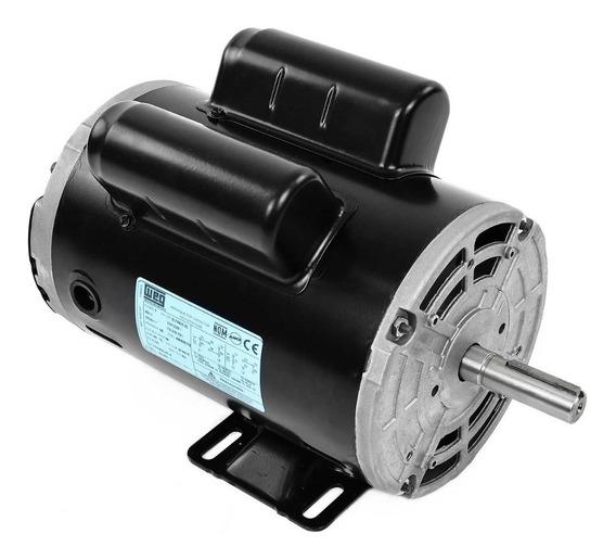 Motor Eléctrico Monofásico 1 Hp Weg 14347787 1755 Rpm