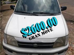Daihatsu Gran Move Año 99 Con Tan Solo 95,970 Kilometros