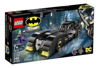 Lego Batman Guason Pursuit Of The Joker Dc Batimobil 76119