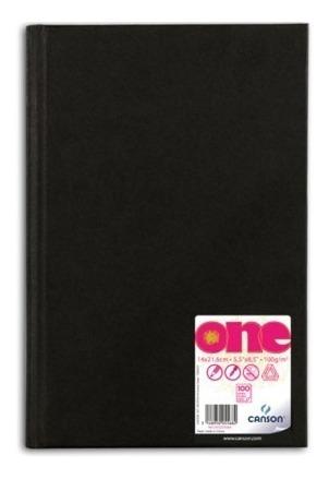 Livro De Esboço Sketch Book Canson One 21x27cm A4