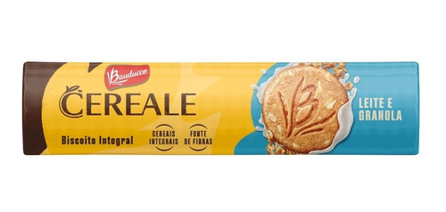 Imagem 1 de 1 de Biscoito Cereale Leite E Granola Bauducco 165g