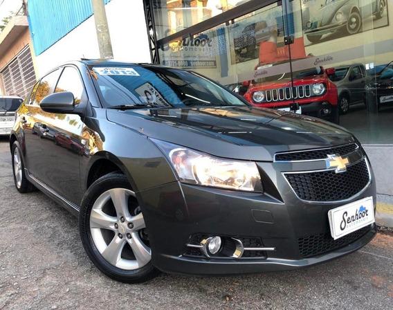 Chevrolet Cruze Sport6 1.8 Ltz At + Teto Solar Cinza - 2013
