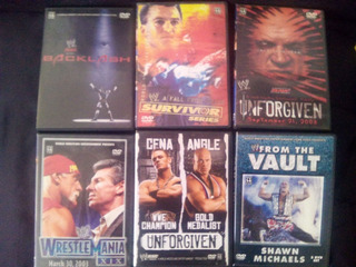 Wwe 3 Dvd John Cena Shawn Michaels Hulk Hogan Wrestlemania