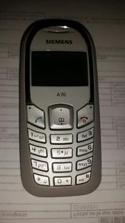 Telefono Siemens A70 Con Cargador Original Incluido (10verd)
