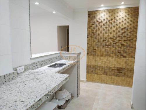 Apartamento  Com 1 Dormitório(s) Localizado(a) No Bairro José Menino Em Santos / Santos  - 6599