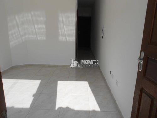 Imagem 1 de 26 de Sobrado De 2 Dormitórios Na Vila Sônia, Em Praia Grande - So0085