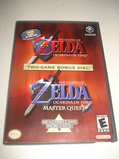 Juego De Coleccion Zelda Okarina Of Time Nintendo Gamecube