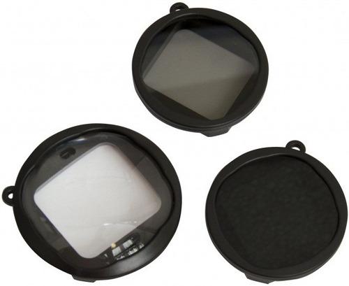 Kit Lente Macro Filtro Densidade Polarizador Polar Pro Hero3