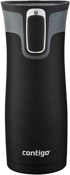 Termo 16 Oz Negro Mate West Loop Contigo