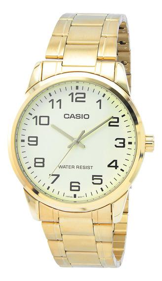 Relógio Casio Collection Masculino Mtp-v001g-9budf