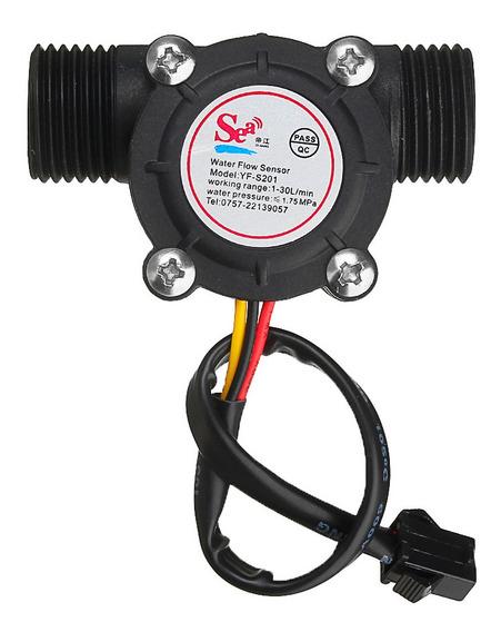 Novo Sensor De Fluxo De Água Medidor Hall Sensor De Fluxo Co