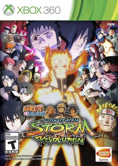 Naruto Revolution Xbox 360 Patch Não Roda Em Console Travado