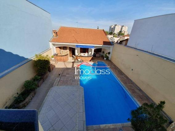 Casa Com 3 Dormitórios À Venda, 366 M² Por R$ 1.350.000 - Vila Santa Catarina - Americana/sp - Ca1061