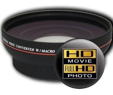Lente Grande Angular Alta Definição Hd3 Nikon Canon Sony Dsl