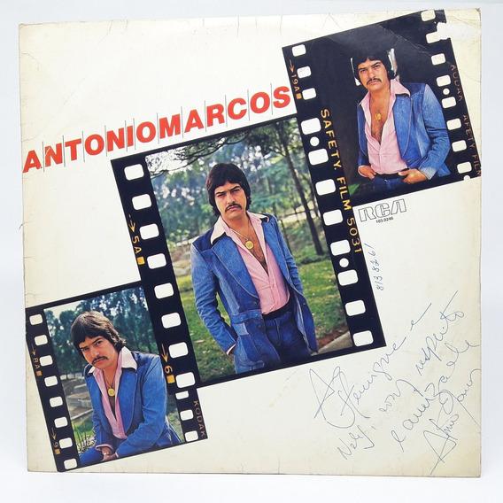 Lp Antonio Marcos 1978 Vai Meu Irmão Disco Vinil Autografado