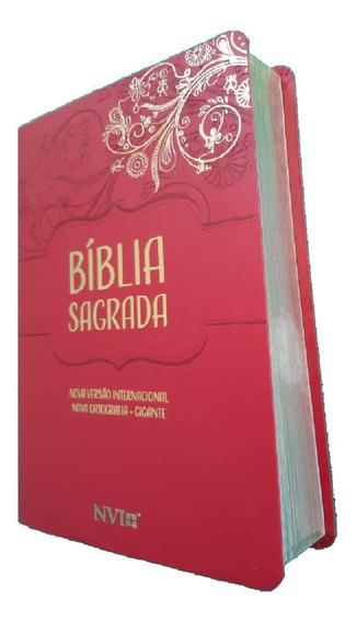 Bíblia Feminina Letra Gigante Para Mulheres