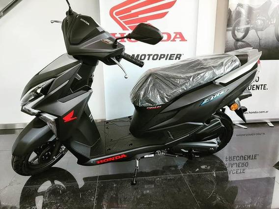 Honda Scooter New Elite 0km Entrega Ya Financia 12/18 C/tarj