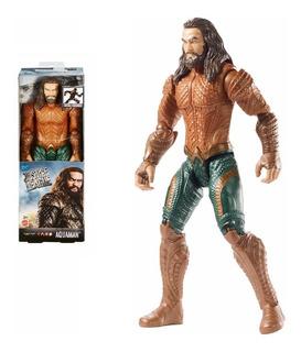 Aquaman Figura Liga De La Justicia Original Fgg78 Juguetes
