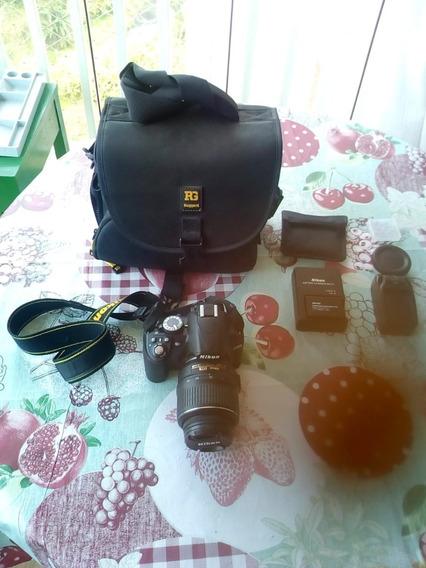 Nikon D3100 Com Case E Acessórios