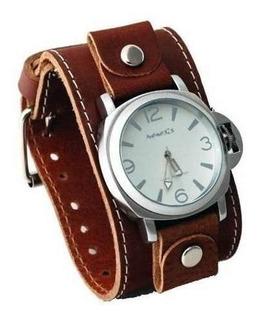 fecha de lanzamiento 2019 original muy baratas Reloj Pulsera De Cuero Ancha en Mercado Libre Chile
