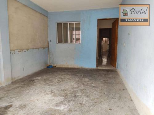 Imagem 1 de 10 de Casa Com 4 Dormitórios À Venda, 120 M² Por R$ 195.000 - Conjunto Habitacional São José - Campo Limpo Paulista/sp - Ca0606