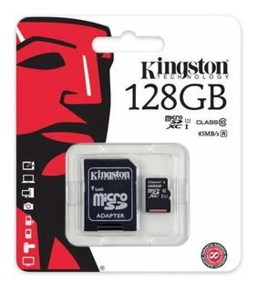 Kingston Microsd 128gb Classe 10 80mbs Micro Sd