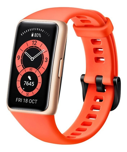 Reloj Inteligente Huawei Band 6, 1.47  Amoled, Naranja