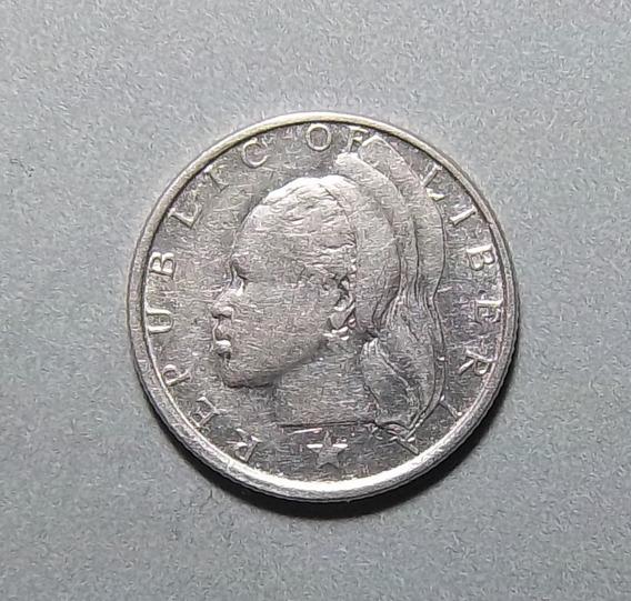 Liberia 10 Cents 1961 Mb Plata 900 Km 15