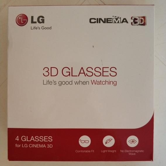 Óculos 3d Lg Caixa Com 4 Unidades