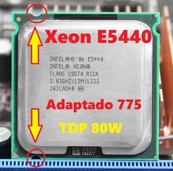 Processador Cpu Intel Xeon E5440 Adaptado Lga 775 Tdp 80w