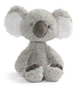 Linda Pelúcia Bebê Koala Original Gund 26cms - Frete Gratis