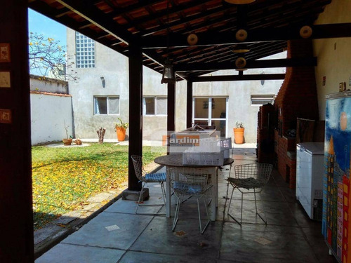 Sobrado Residencial À Venda, Campestre, Santo André. - So1554