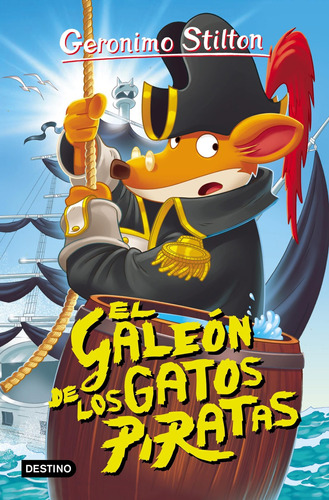 Imagen 1 de 1 de Gerónimo Stilton 7 El Galeón De Los Gatos Piratas G.stilton
