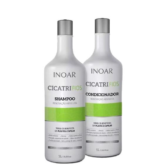 Kit Inoar Herbal Shampoo 1000ml + Condicionador 1000ml