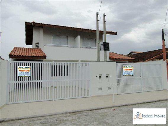 Sobrado Com 2 Dorms, Jardim Marina, Mongaguá - R$ 360 Mil, Cod: 649600 - A649600
